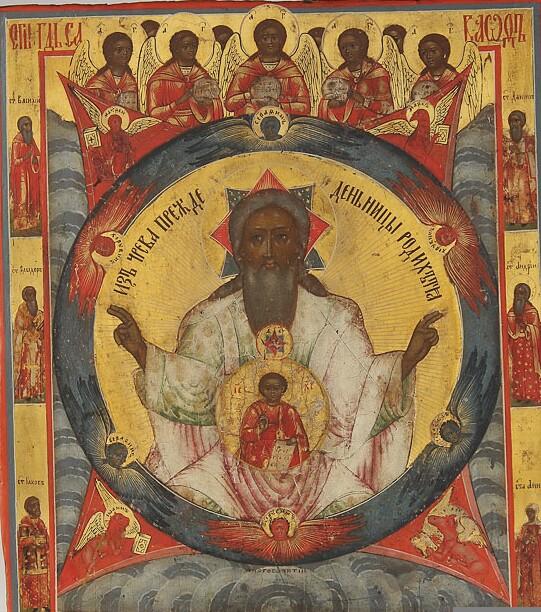 Lord Sabaoth – ICONS AND THEIR INTERPRETATION