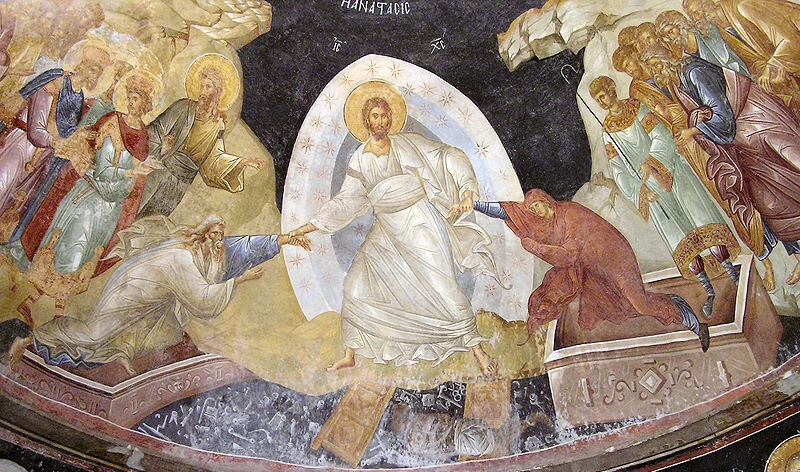 Image result for resurrection of christ icon