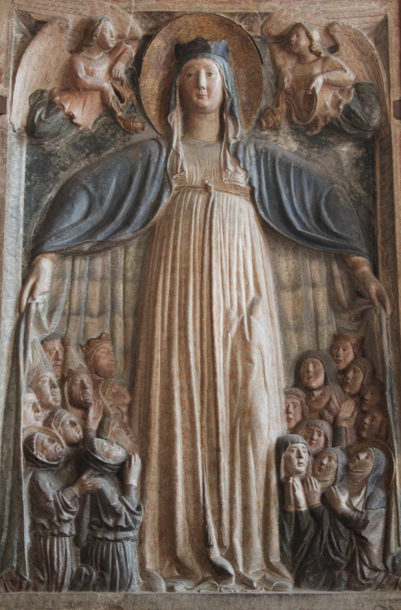 """The 'Protectress' Most Holy Mother of God."" dans images sacrée"