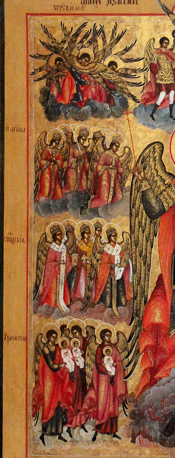Nine choirs of angels – ICONS AND THEIR INTERPRETATION