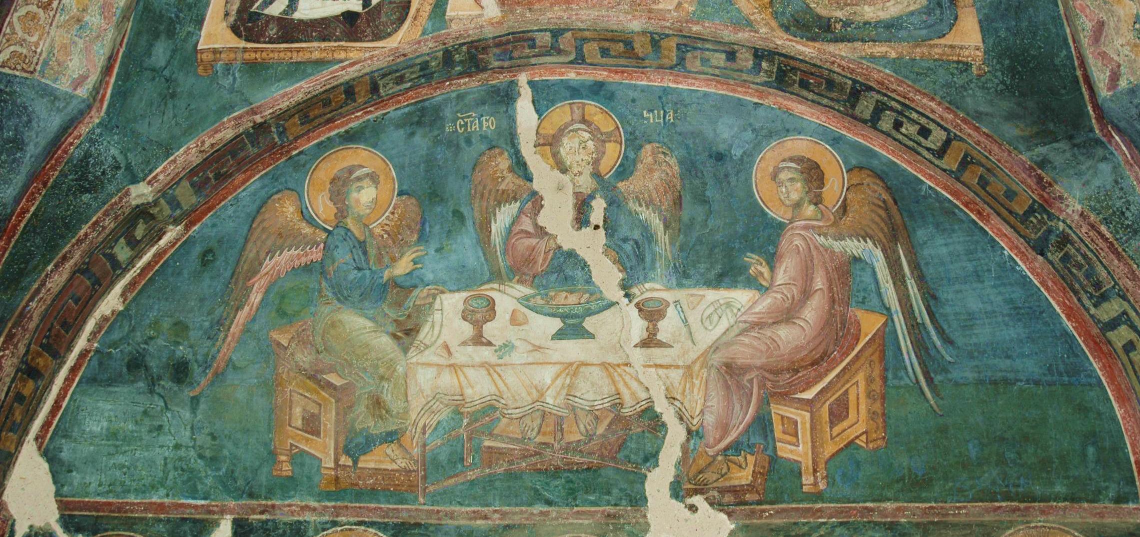 Old Testament Trinity – ICONS AND THEIR INTERPRETATION